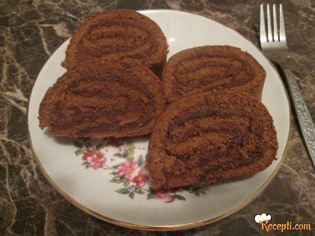 Čokoladni rolat (7)