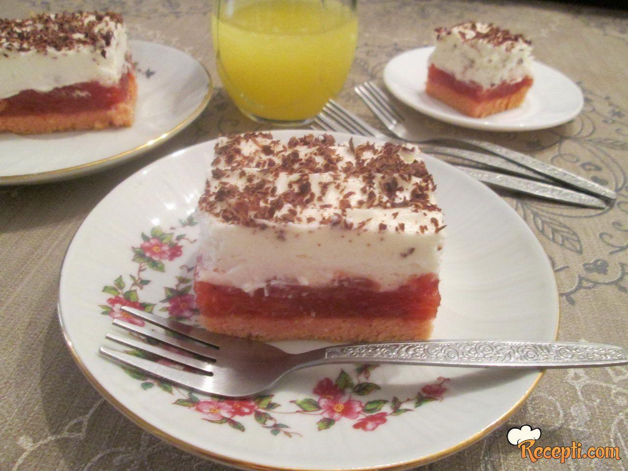 Lagani voćni kolač