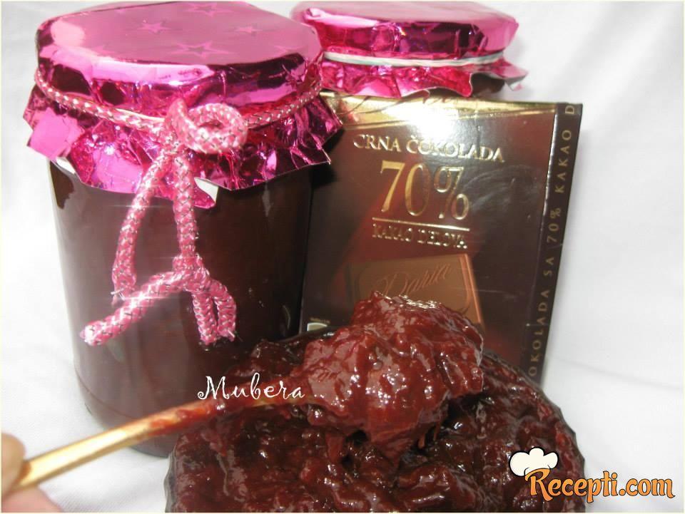 Šljive i tamna čokolada