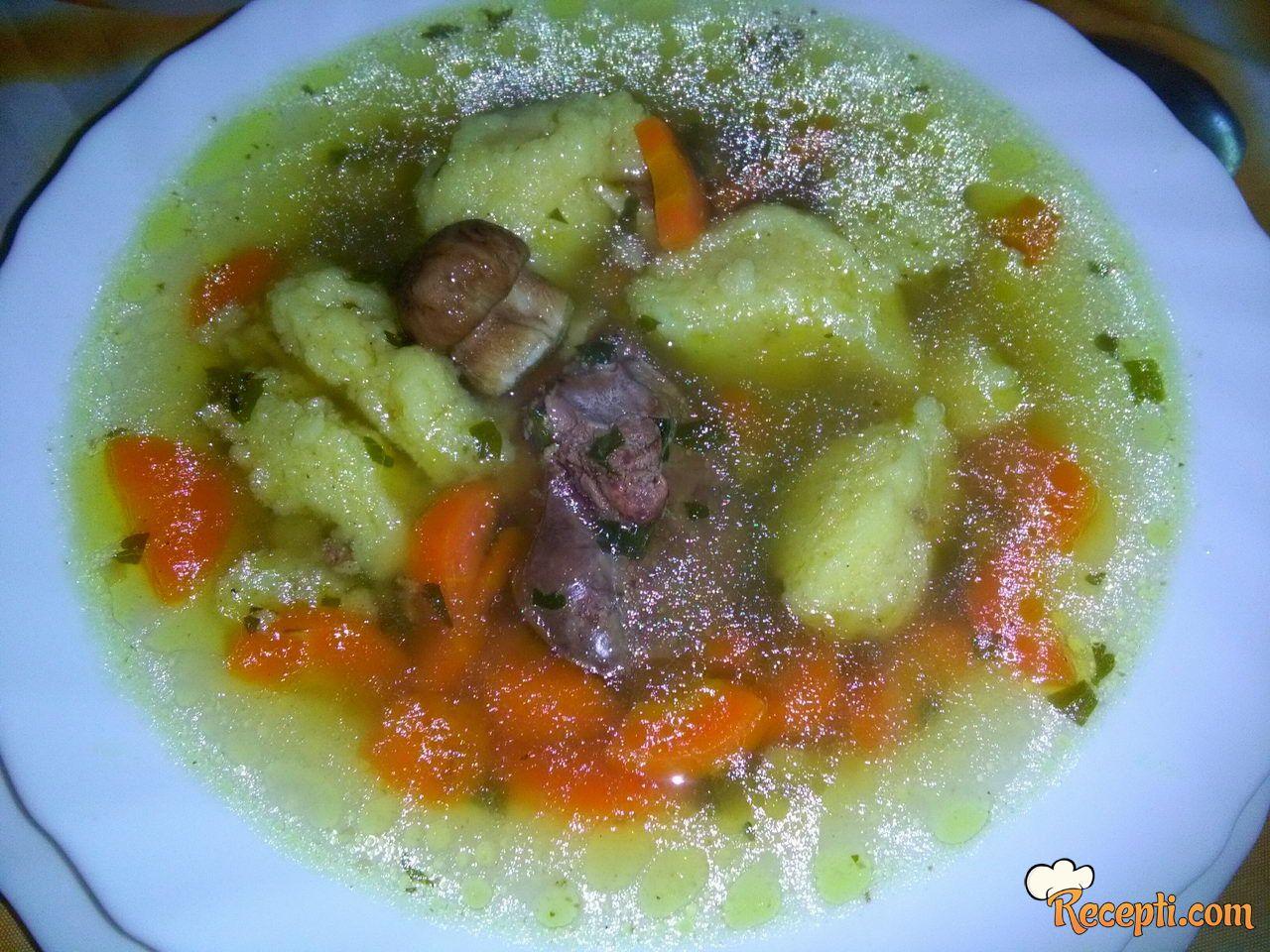 Supa sa vrganjima