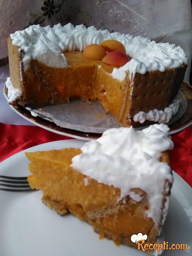 Keks torta sa kajsijama