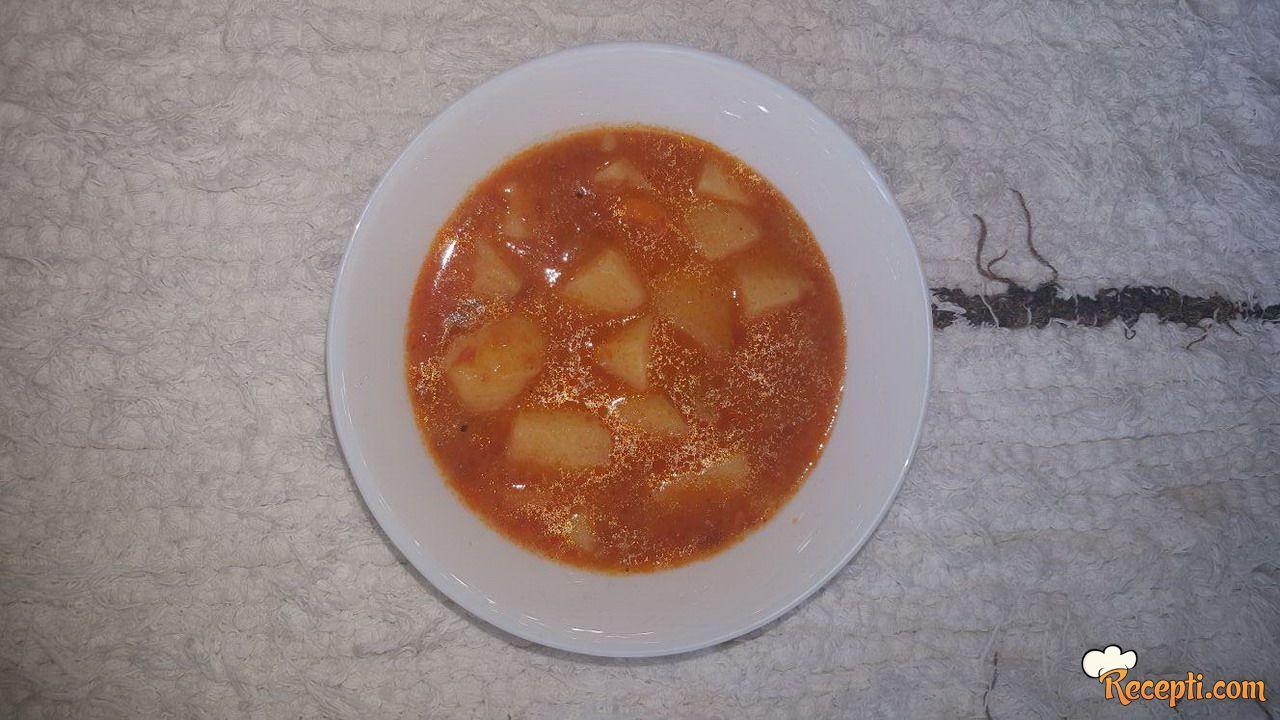 Krompir paprikaš (3)
