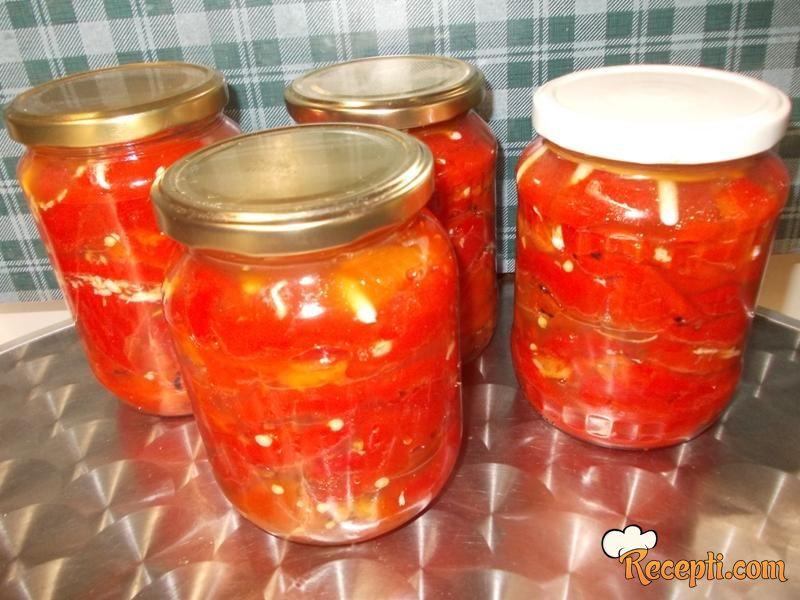 Pečena paprika s renom
