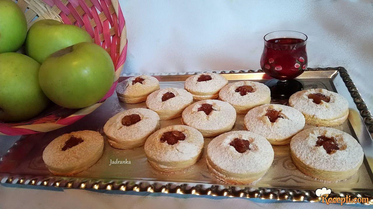Prhki keksići s jabukama