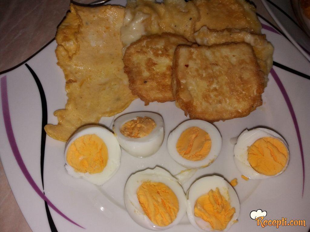 Pohovana gauda i domaći sir