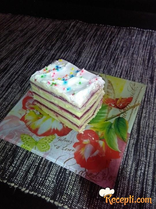 Voćna rozen torta (2)