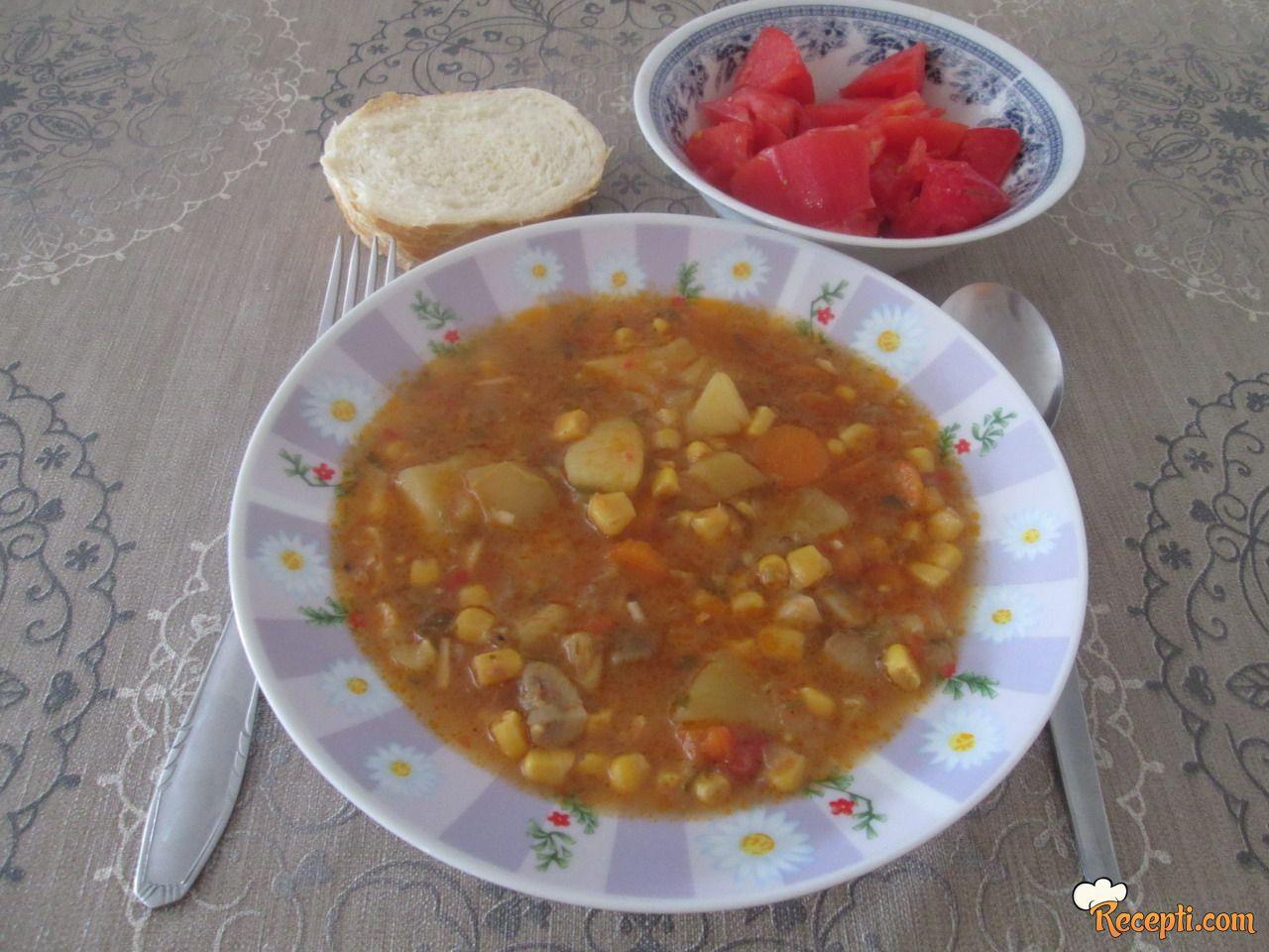 Čorba sa povrćem