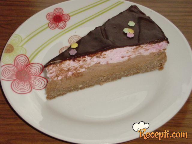 Torta sa malinama i čokoladom (2)