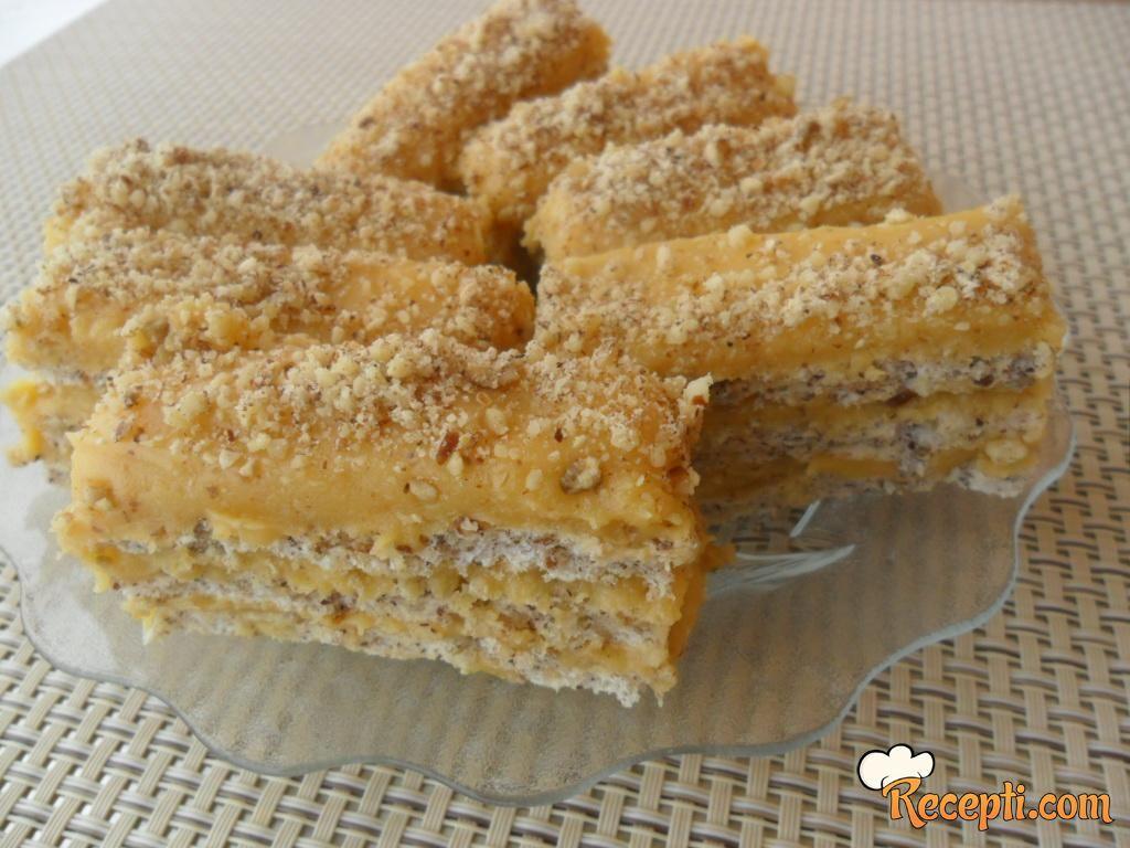Lešnik - karamel štanglice