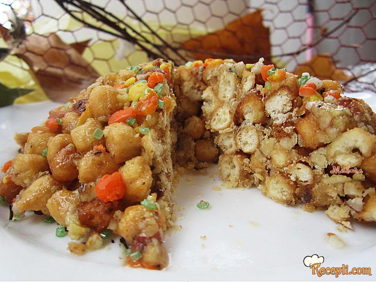 Prženi karnevalski kolač - Struffoli o cicerchiata