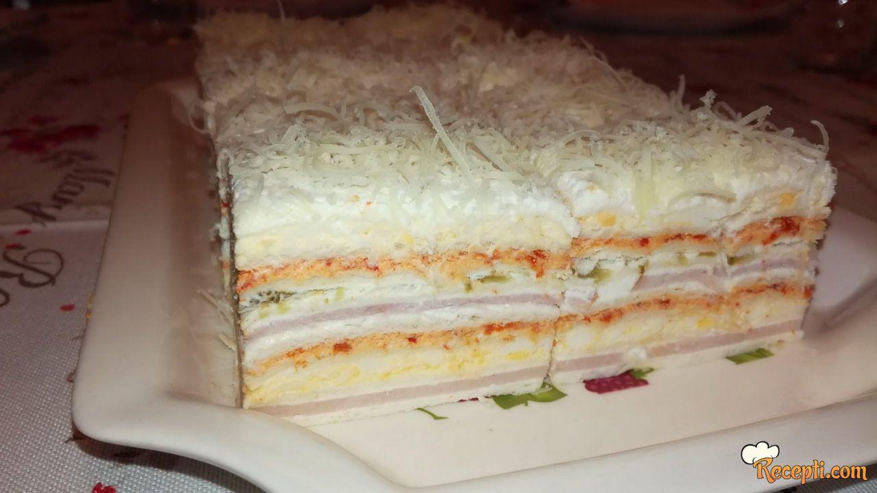 Slana torta sa rozen korama