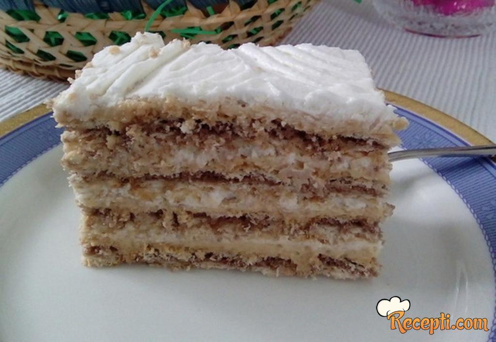 Seherezada karamel torta