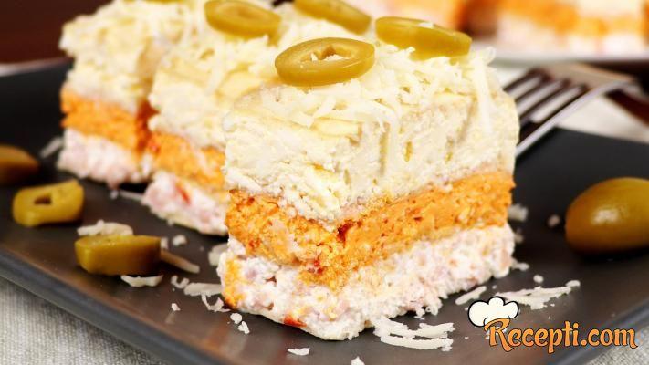 Slana torta - oblanda