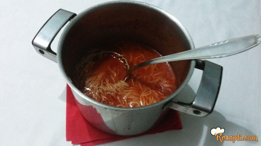 Brza paradajz čorba (2)