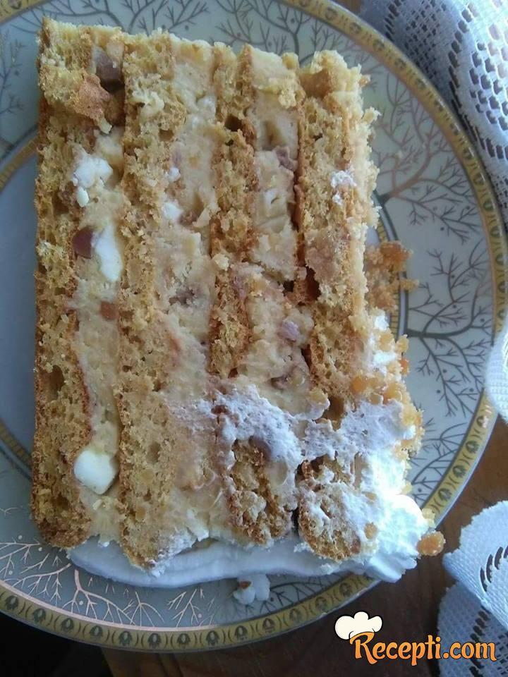 Grčka kikiriki torta