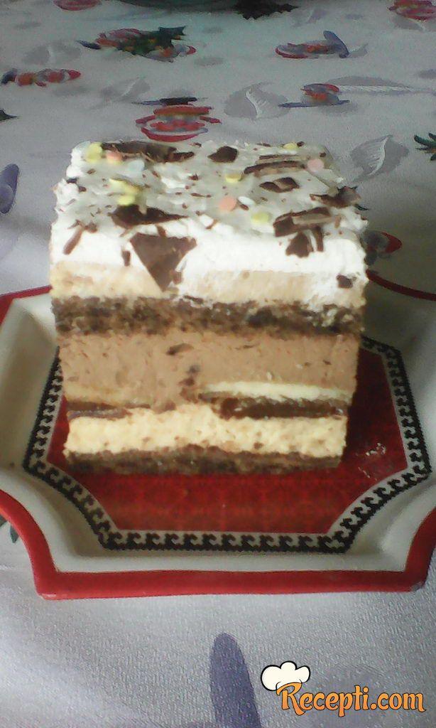 Torta sa dva fila