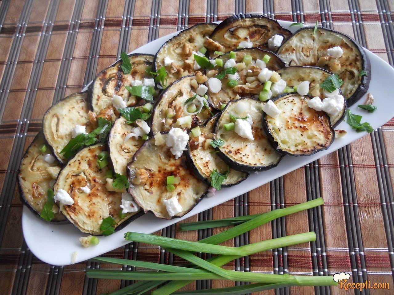 Patlidžan salata