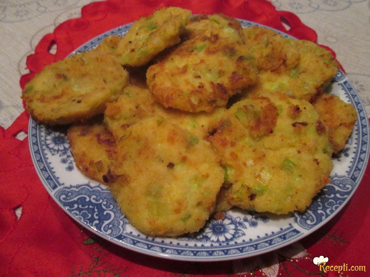 Pljeskavice od krompira sa sirom