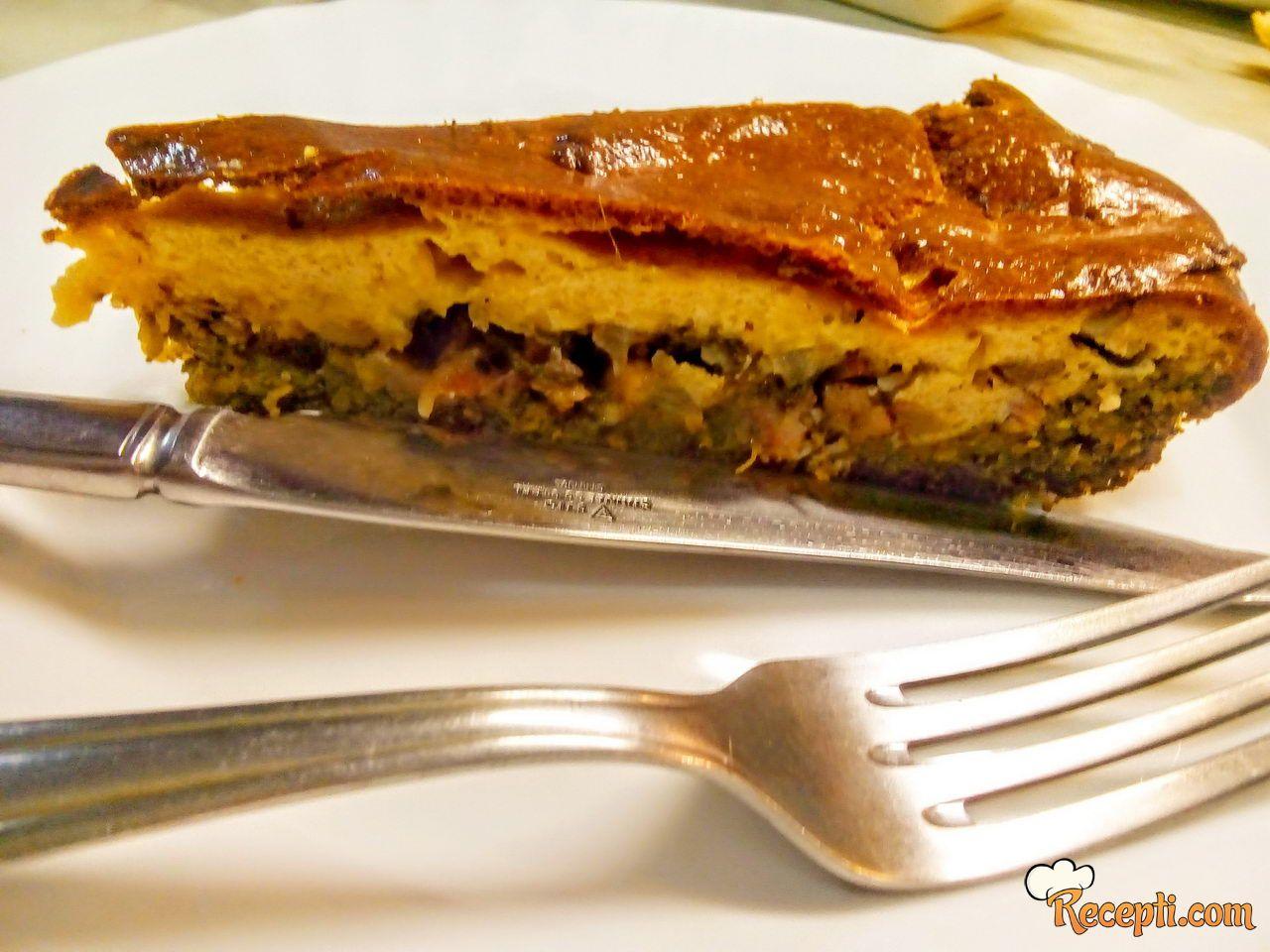 Zeleni tort & Green salted tart