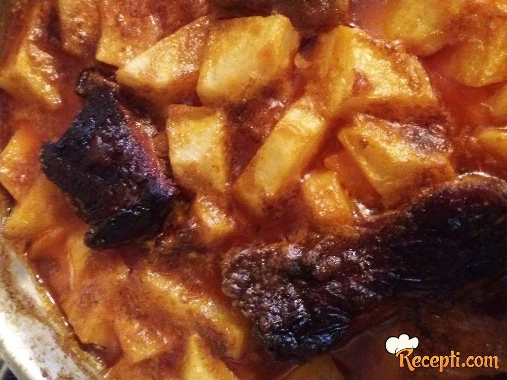 Krompir đuveč