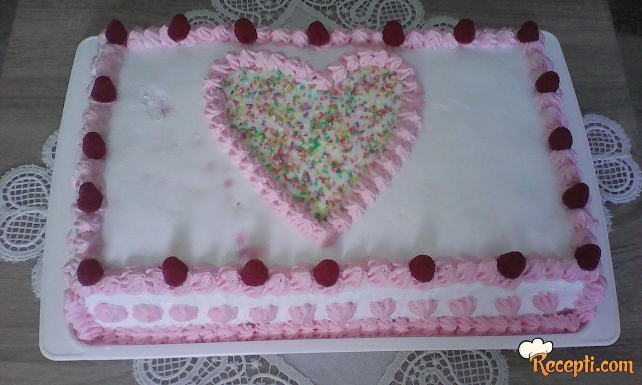 Torta sa malinama (7)