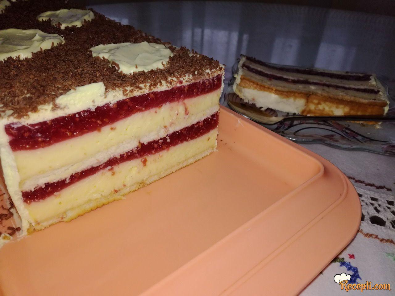 Voćna šnit torta