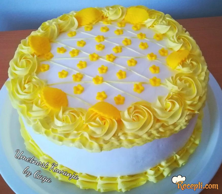 Grčka sladoled torta (2)
