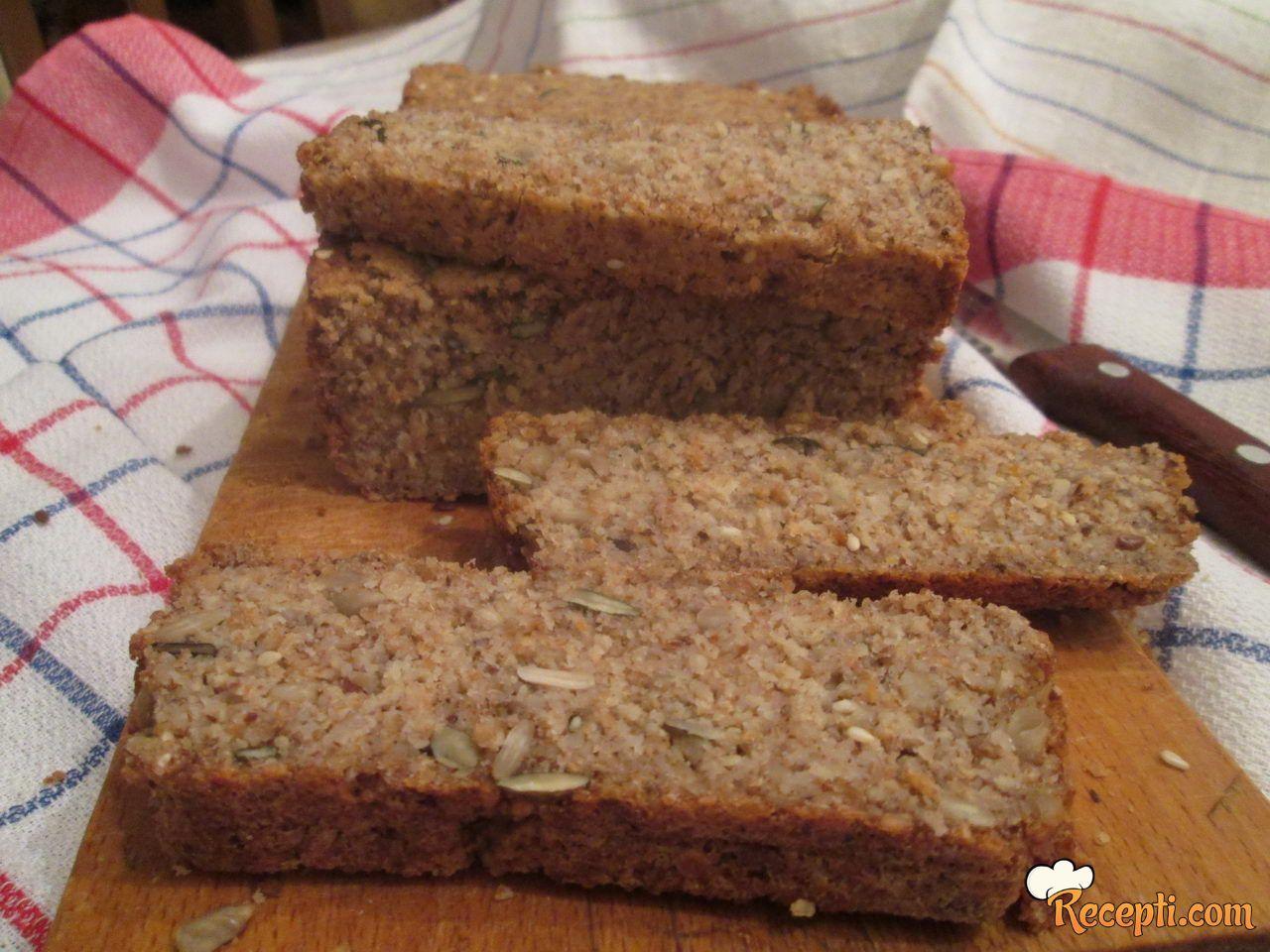 Hleb bez brašna i bez mešenja