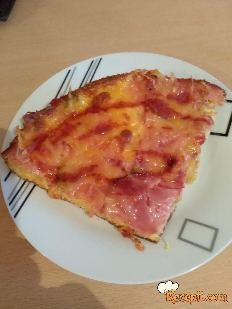 Pizza burek sa starim hlebom