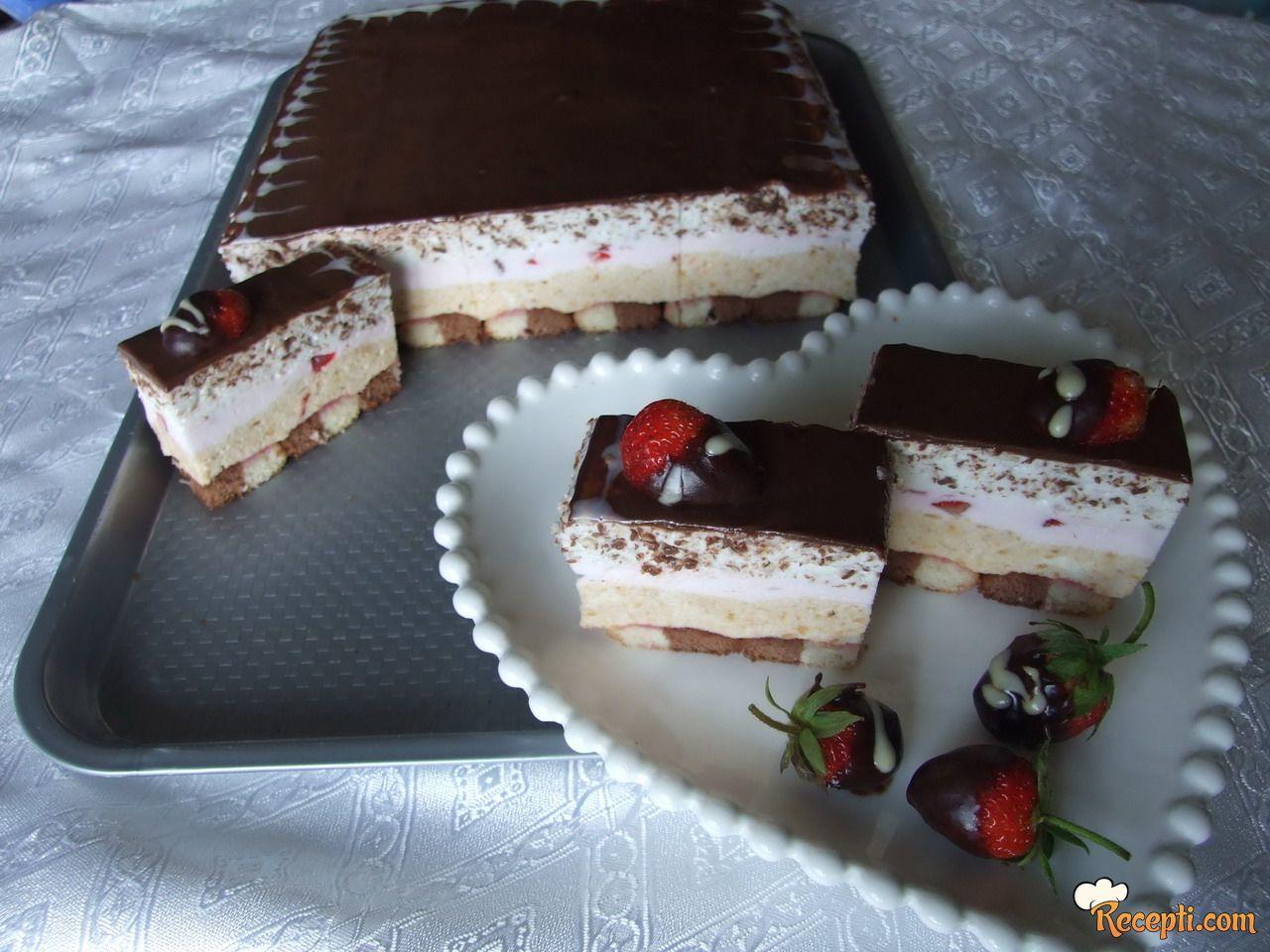 Grčka sladoled torta