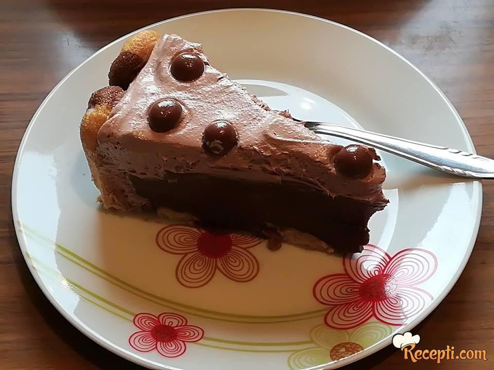 Čokoladni kolač sa piškotama