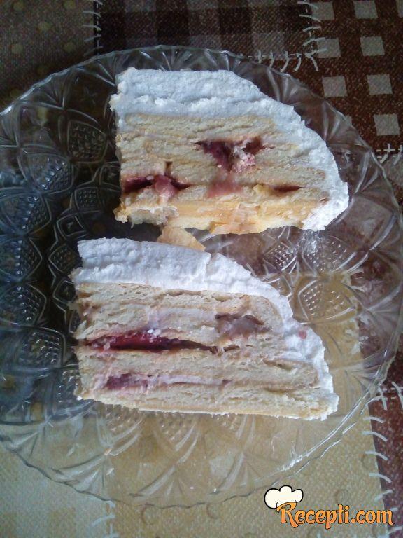 Letnji jogurt kolač