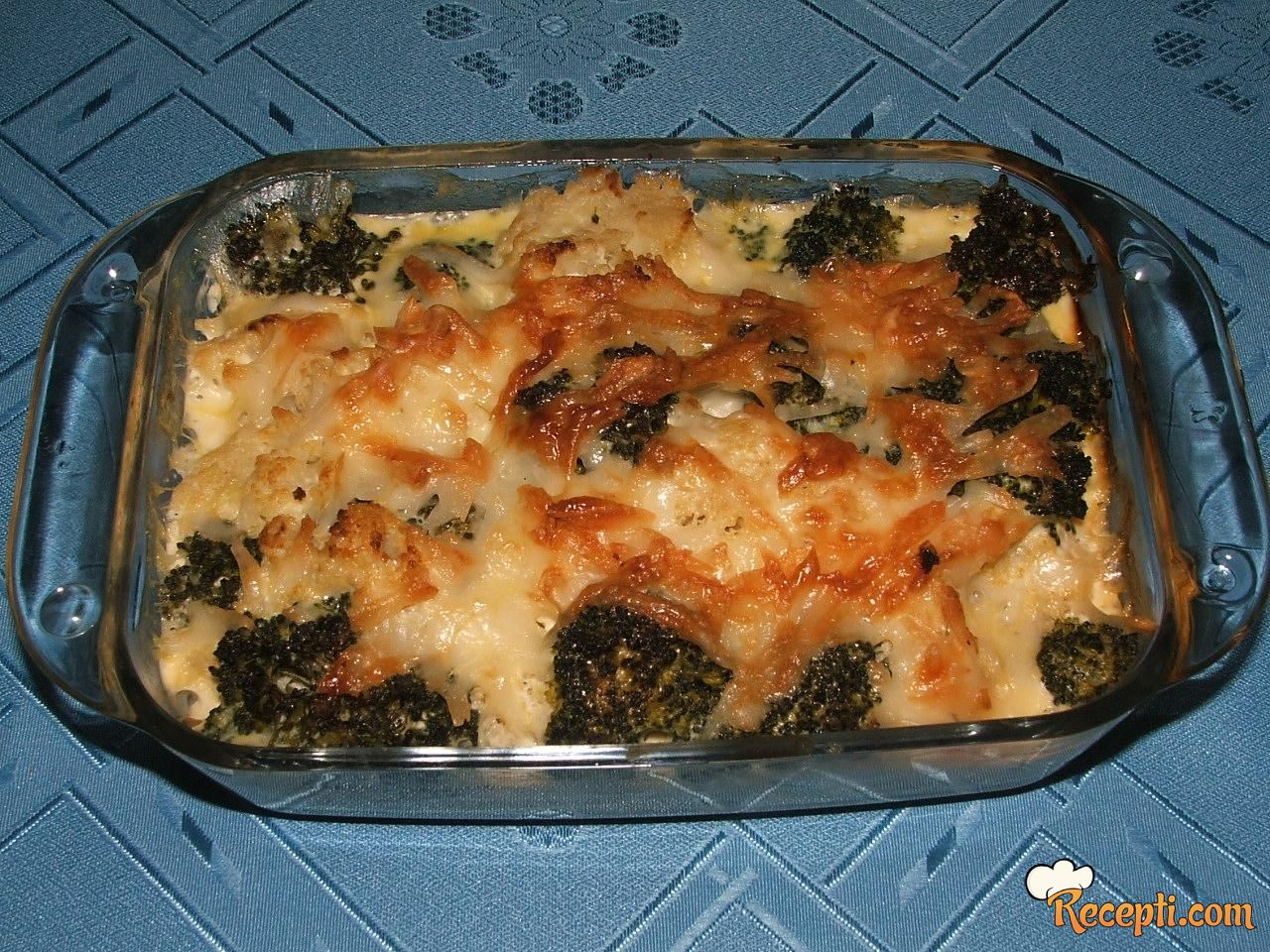 Musaka sa karfiolom i brokolijem