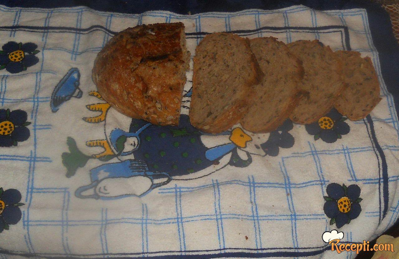 Integralni hleb sa semenkama (3)