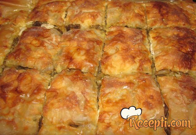Pita od patlidžana i feta sira