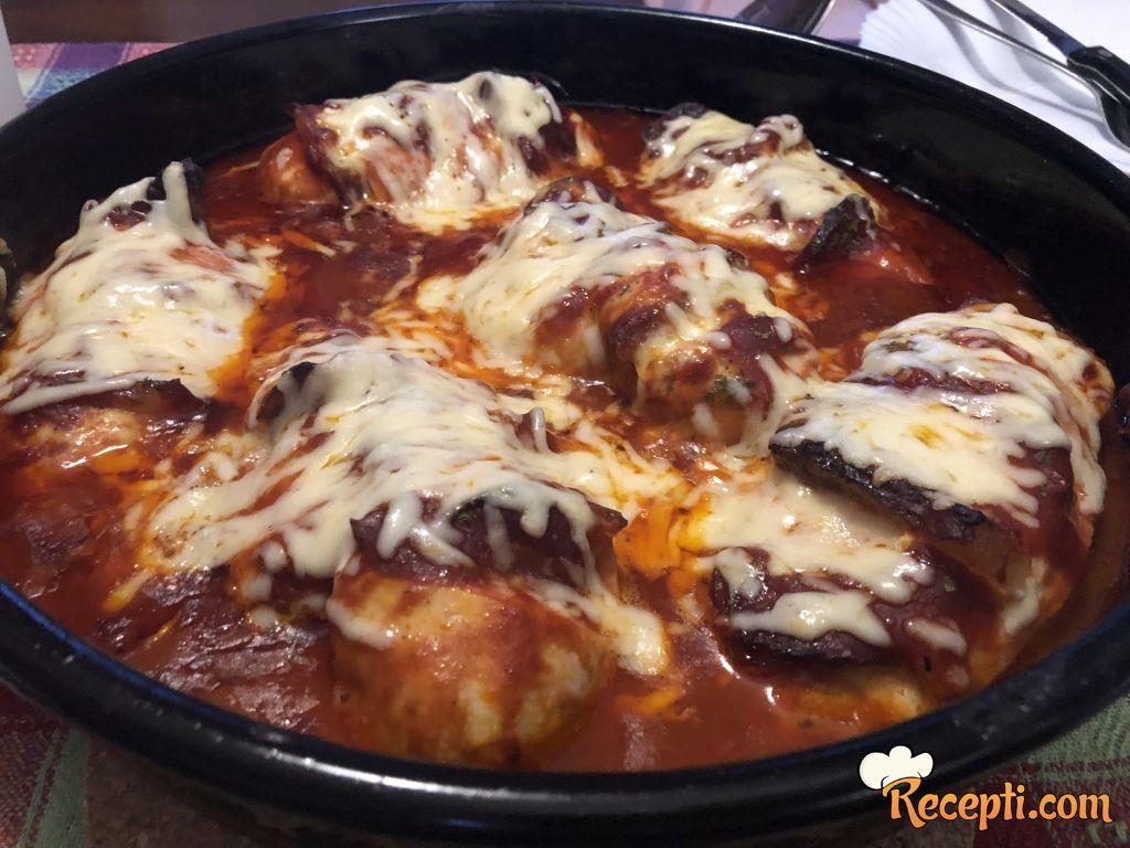 Piletina u roštilj sosu
