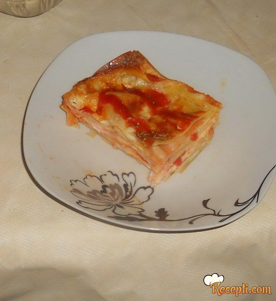 Pica lazanje
