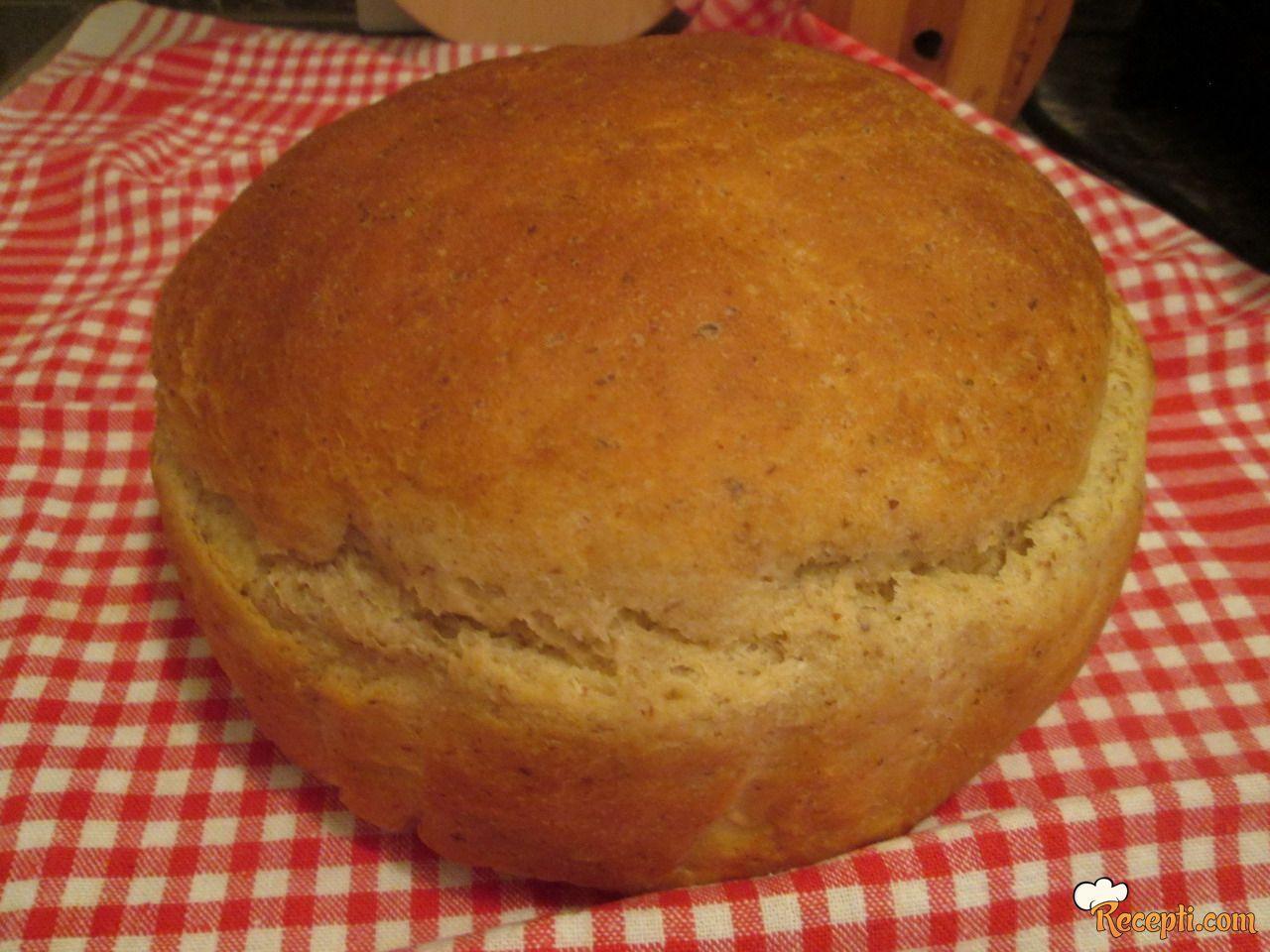 Hleb sa mlevenim lanom