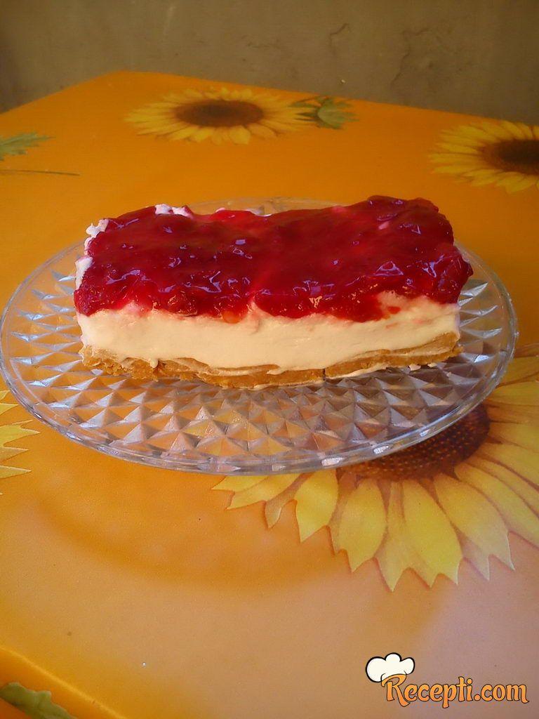 Cheese cake sa višnjama (4)