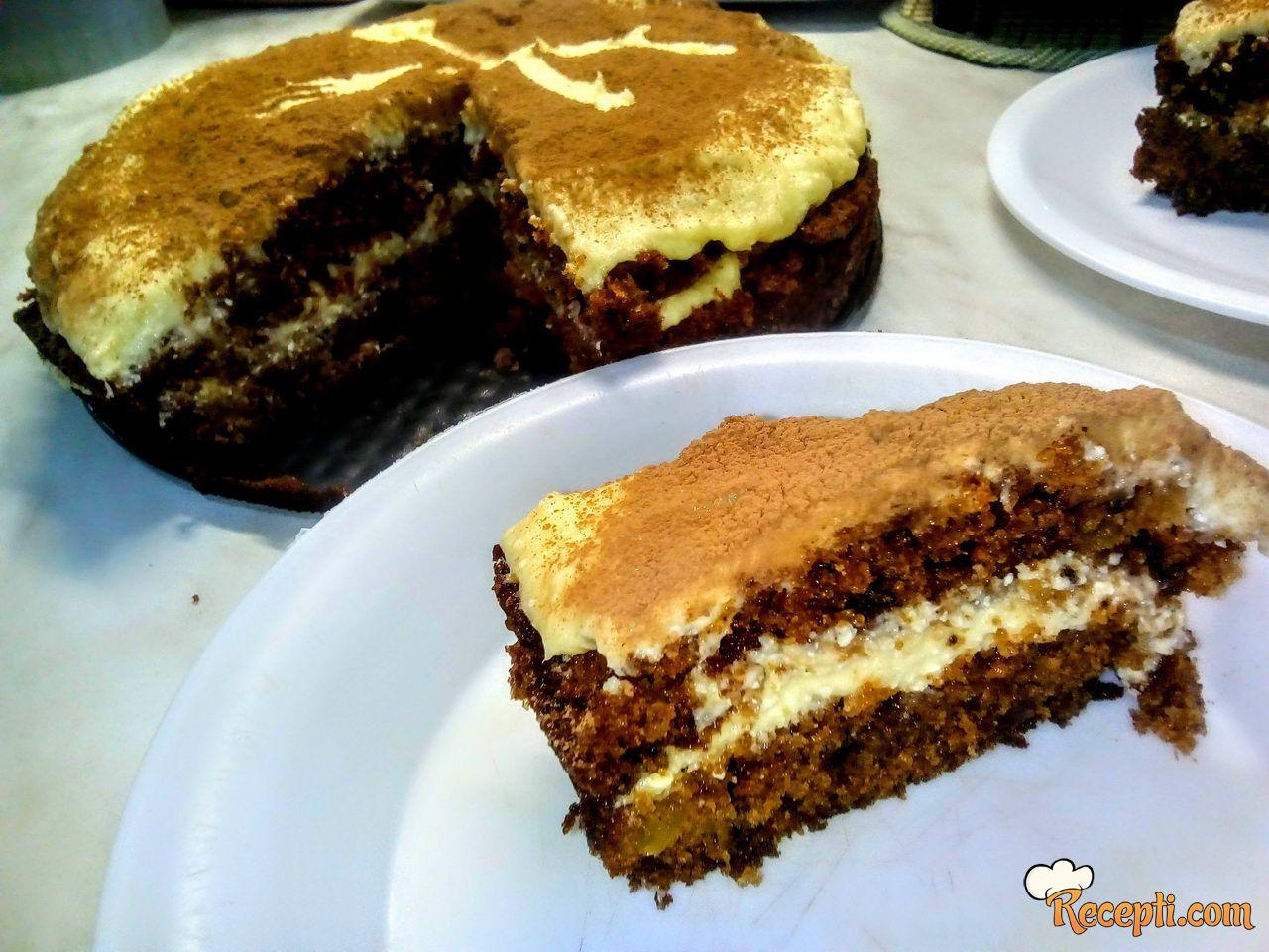 Torta sa šargarepom i ananasom & Carrot and pineapple cake