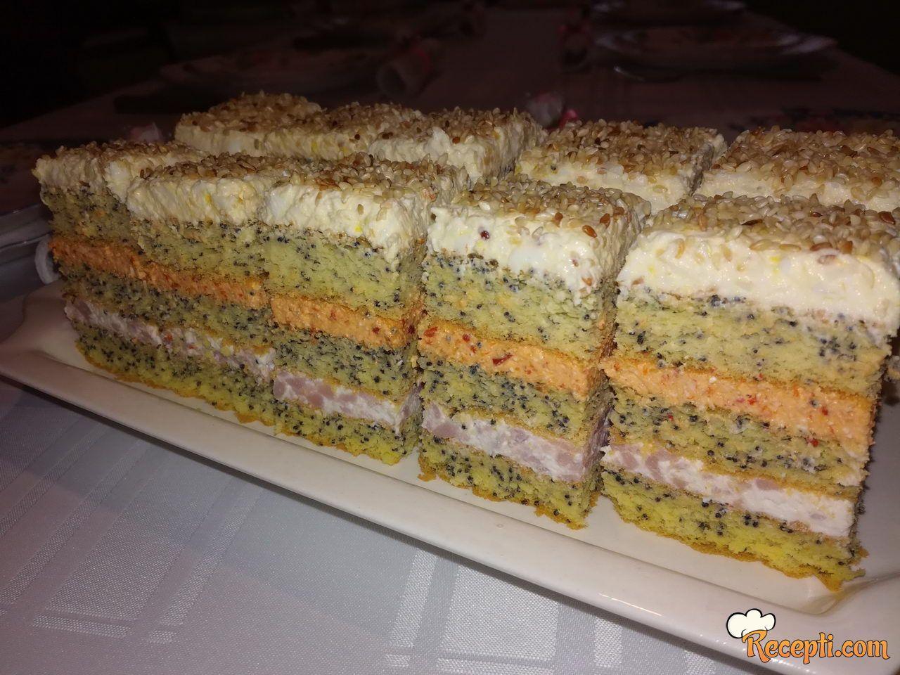 Slana torta sa makom