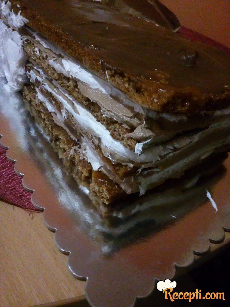 Grilijaž posna torta