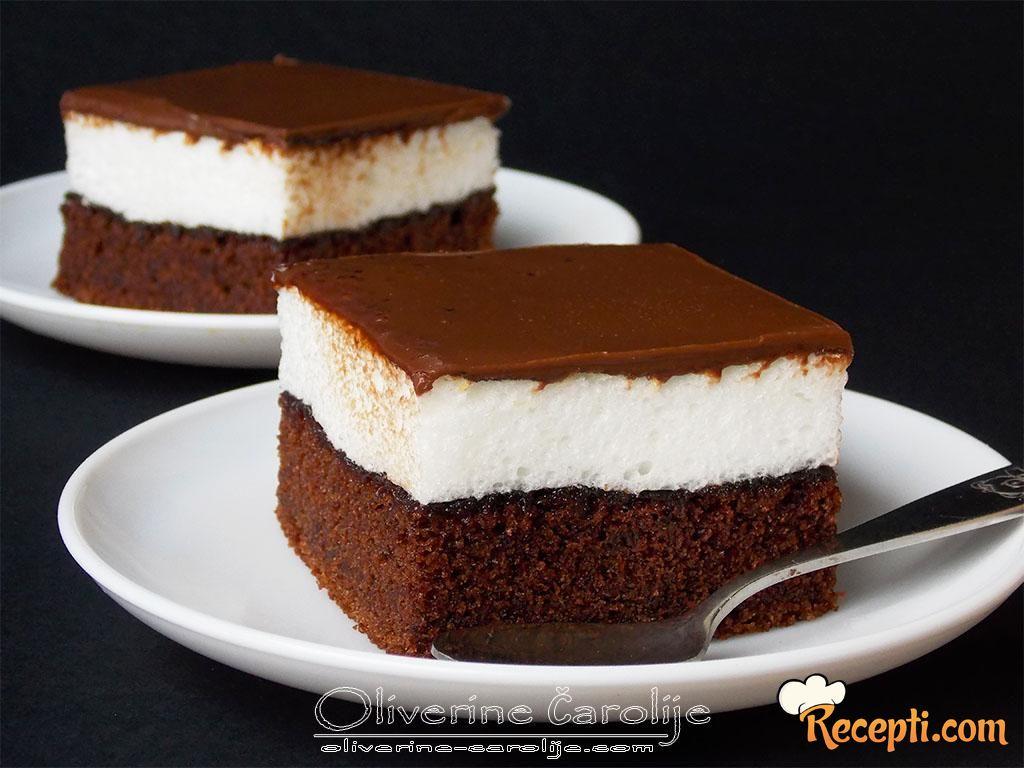 Mančmelou kolač