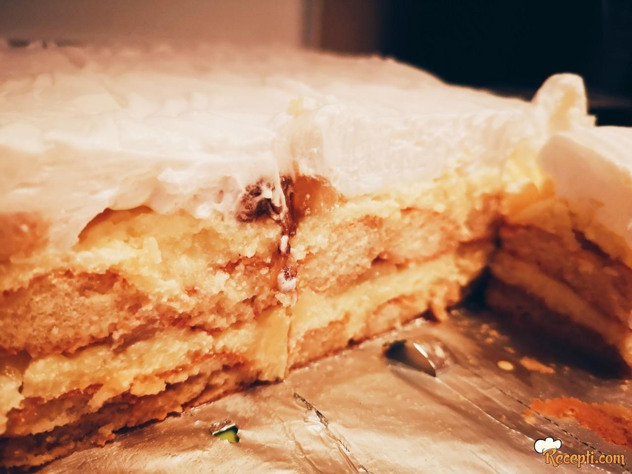 Ananas torta (6)