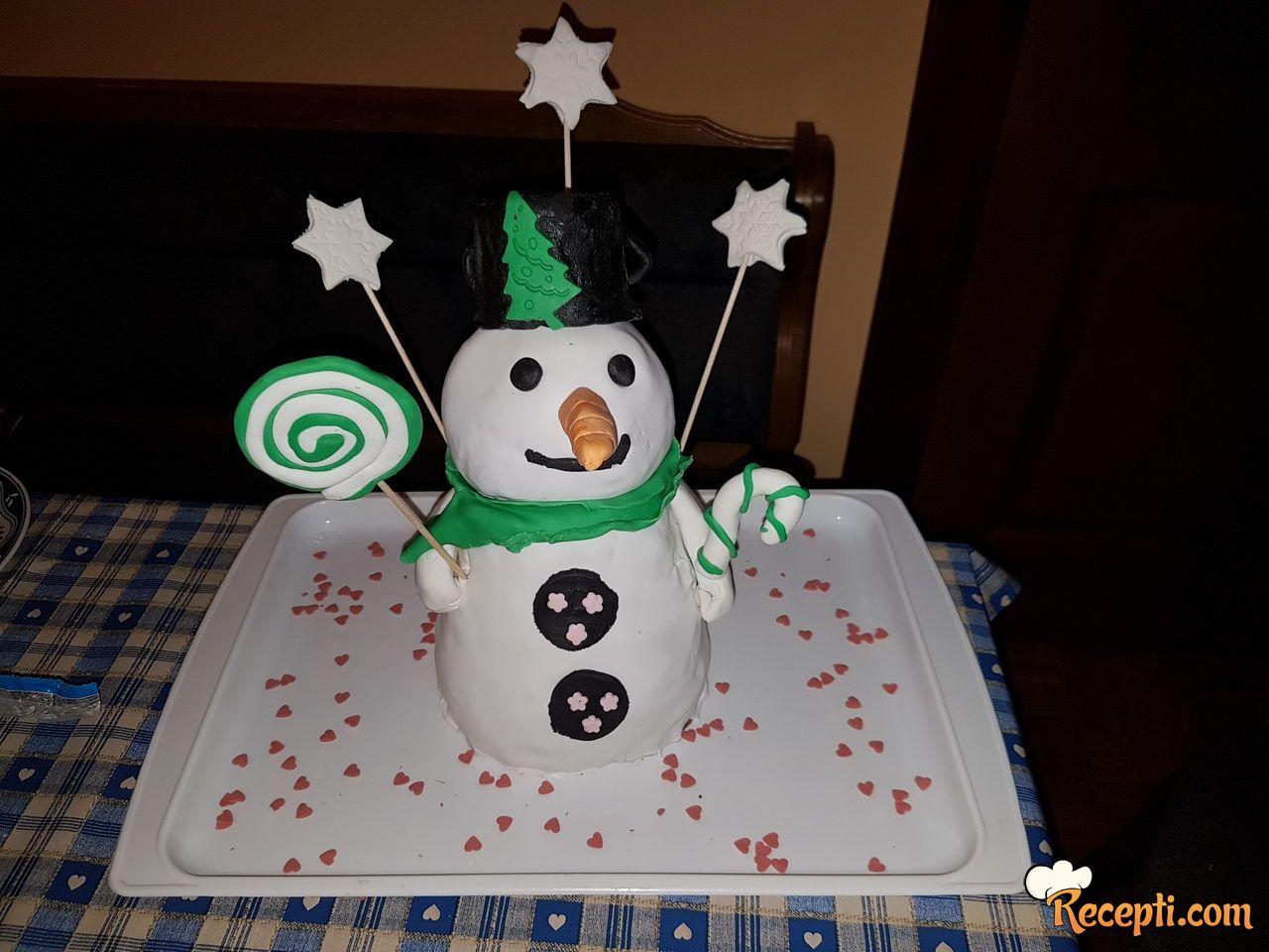 Šneško Belić torta