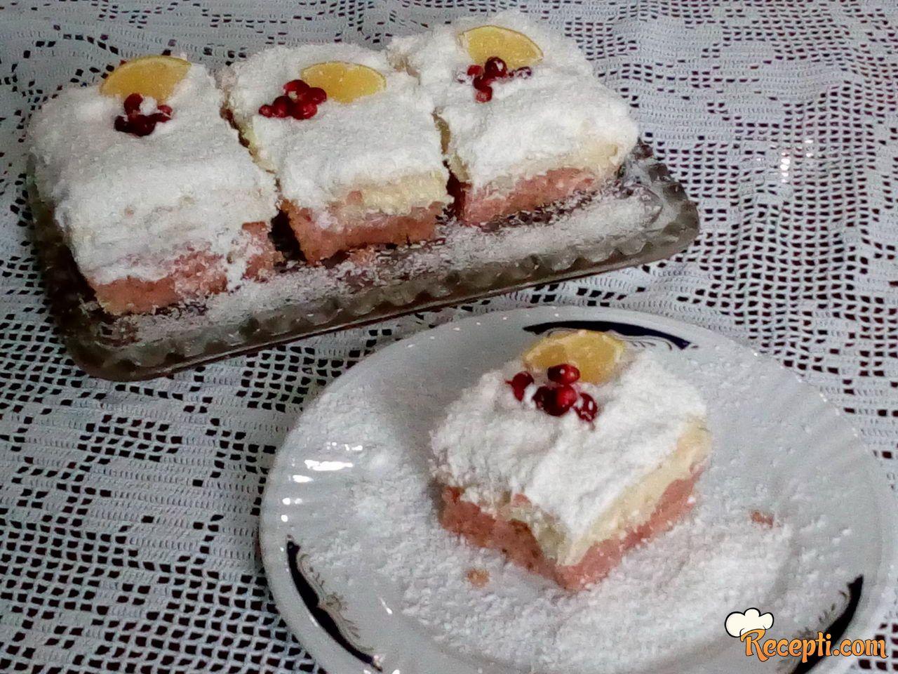 Snežni kolač od nara