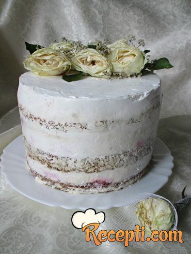 Tiramisu torta sa malinama