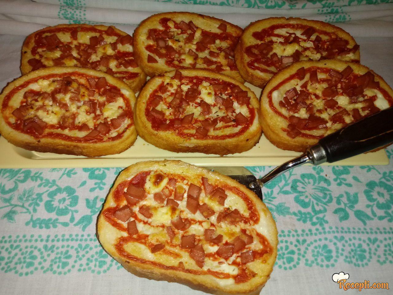 Pizza kriške