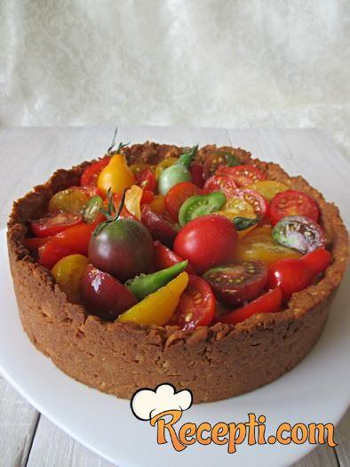 Torta sa čeri paradajzom
