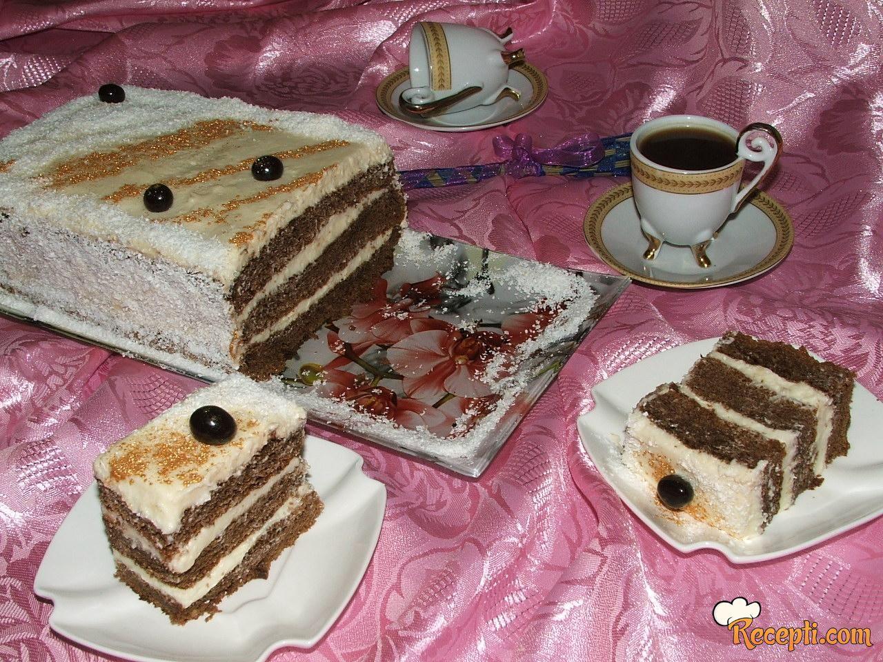 Moka torta (2)